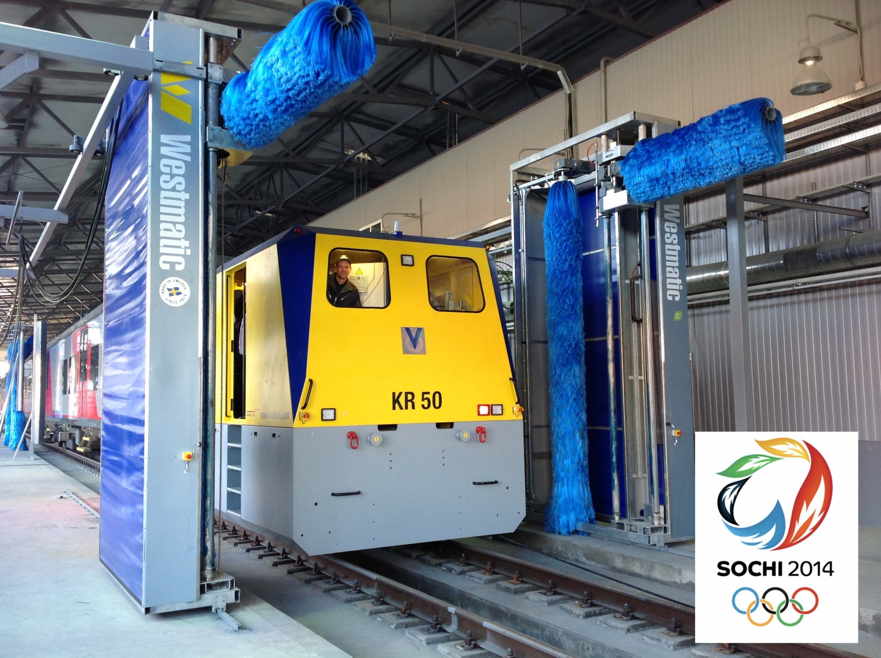 Sochi Train Wash System